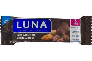 Luna Whole Nutrition Bar Dark Chocolate Mocha Almond