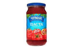 Паста томатная 25% Чумак с/б 450г