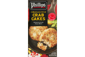 Phillips Maryland Style Crab Cakes - 2 CT