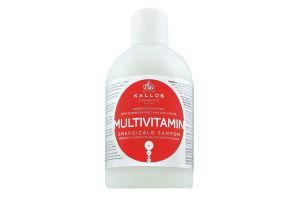 Шампунь для волос энергетический KJMN Multivitamin Kallos 1000мл