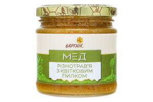 Мед разнотравье с цветочной пыльцой Бартнік с/б 250г