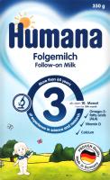 Смесь молочная сухая для детей от 10мес №3 Humana к/у 350г