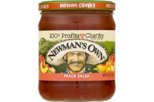 Newman's Own Peach Salsa Medium Chunky
