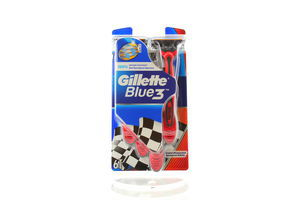 Станок для бритья мужской одноразовый Blue 3 Gillette 6шт