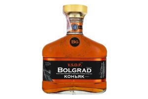 Коньяк 0.5л 40% 4 зірки Bolgrad пл