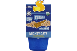 Mighty Oats Instant Super Cereal Wild Blueberries & Cinnamon - 3 CT