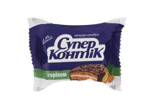 Печенье-сэндвич с орехом Супер-Контик Кonti м/у 50г
