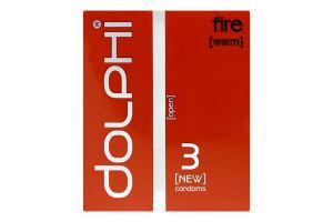 Презервативи анатомічні Fire Dolphi 3шт