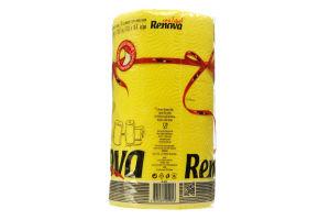 Полотенца кухонные Renova Red Label желтые