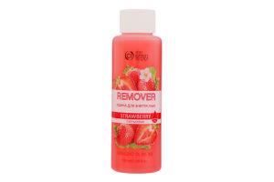 Рідина для зняття лаку Strawberry Colour intense 100мл