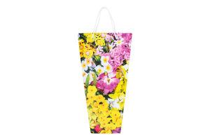 Пакет подарочный РОМ-1450 Цветочный Креатив-Принт 1шт