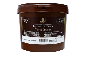 Какао масло 100% Cacao Barry ведро 3кг