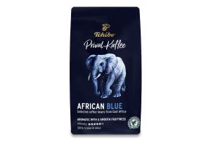 Кава натуральна смажена в зернах African Blue Privat Kaffee Tchibo в/у 500г