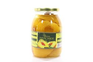 Персики полов.легк.сиропі Belfood 600г