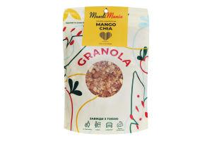 Сніданки сухі Гранола з манго та чіа Mango-Chia Muesli Mania д/п 350г
