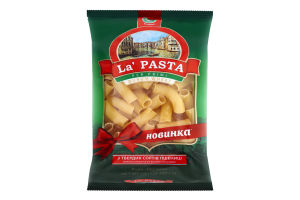 Изделия макаронные Rigatoni La Pasta м/у 400г