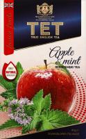 Чай зелений байховий з додаванням трав Apple&mint TET к/у 20х2г