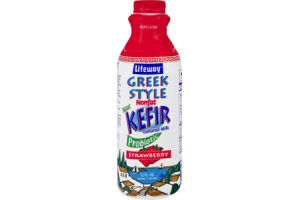 Lifeway Greek Style Strawberry Nonfat Kefir Cultured Milk