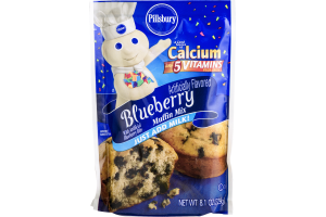 Pillsbury Muffin Mix Blueberry