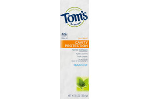 Tom's Of Maine Cavity Protection Fluoride Toothpaste Spearmint