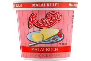 Reena's Malai Kulfi Exotic Ice Cream