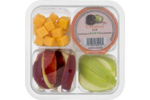 Ahold Snack Pack Apples, Cheese & Dip