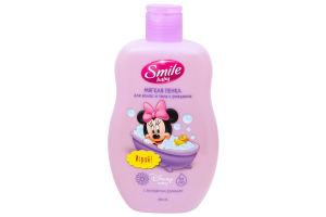 SMILE Baby М'яка пінка 300мл для волосся та тіла від народження