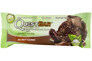 Quest Bar Protein Bar Mint Chocolate Chip