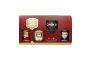 Пиво Chimay Red+Triple+Blue + бокал