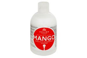Kallos KJMN1543 Mango moisture Repair Shampoo 1000мл (шампунь с маслом манго)