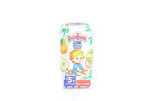 Сок для детей от 5мес Яблоко-груша Спелёнок т/п 0.2л