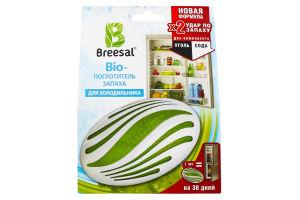 Поглотитель запаха для холодильника 2в1 био Breesal 80г