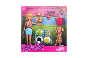 Кукла с аксес.Приятная воскрес Defa 8282