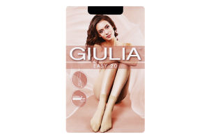 Шкарпетки жіночі Giulia Easy 20den 23-25 nero 2пари