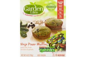 Garden Lites Nickelodeon Teenage Mutant Ninja Turtles Ninja Power Muffins - 6 CT