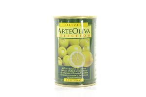 Оливки фаршированные лимоном Arte Oliva ж/б 300г