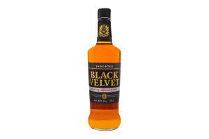 Виски 0.7л 40% Black Velvet бут