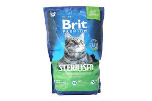 Корм Brit для котів сухий для стерилізованих 1,5кг х6