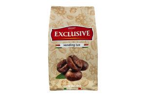 Кофе натуральный жареный в зернах первого сорта Exclusive Vending Lux Primo м/у 500г