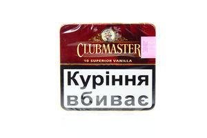 Сигари Clubmaster superior vanilla (10шт)