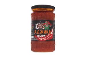Аджика томатна гостра Рецепти тітоньки Адж с/б 340г