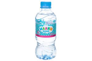 Вода для детей от 0мес питьевая негазированная Малиш п/бут 0.33л