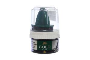 Крем-краска для обуви черная Gold Care 50мл