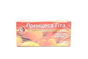 Чай Single персик-абрикос 1,5г*25пак Принцеса Гіта