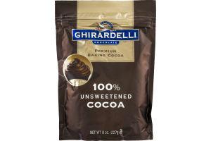 Ghiradelli Premium Baking Cocoa 100% Unsweetened