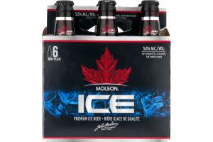 Molson Ice Premium Ice Beer - 6 PK