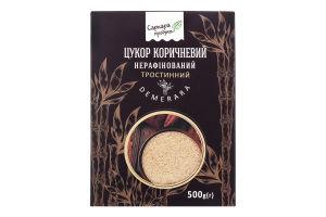 Цукор коричневий нерафінований тростинний Demerara Саркара Продукт к/у 500г