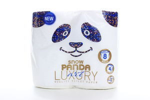 Бумага туалетная 4-х слойная Art Luxury Сніжна панда 8шт