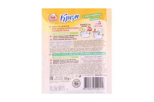 Крем швидкого приготування з ароматом банана Добрик м/у 50г