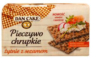 Хлебцы Dan Cake ржаные с кунжутом хрустящие